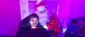 Santa Claus at Portesbery School Project Wellesley