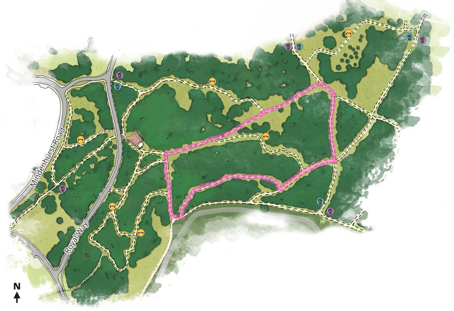 Easter Trail in Central SANGs